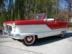 antique vintage 1959 Nash Metropolitan Convertible