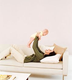 Total-Body Tone-Up: Lose the Baby Weight Fast // Like this workout - can do it during naptime
