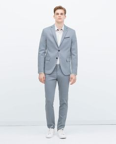 WOVEN WOOL SUIT-Suits-MAN | ZARA United States