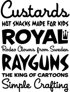 House Industries - Fonts