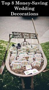 seed packet wedding favors in a DIY wedding ideas and tips. DIY wedding decor and flowers. Everything a DIY bride needs to have a fabulous wedding on a budget! Mod Wedding, Farm Wedding, Wedding Bells, Dream Wedding, Decor Wedding, Wedding Themes, Trendy Wedding, Wedding Venues, Eco Wedding Ideas