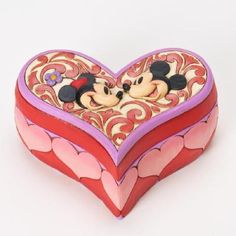 Mickey And Minnie Box- Love Keeper