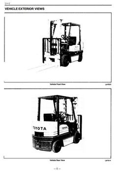 79 Best Toyota Industrial Manuals S On Pinterest. Original Illustrated Factory Workshop Service Manual For Toyota Diesel Forklift Truck Type 5fdcoriginal. Toyota. Toyota Forklift 42 6fgcu25 Wiring Diagram At Scoala.co