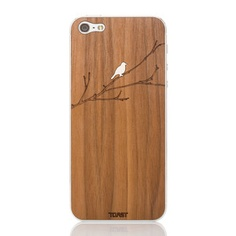 iPhone 5 Bird On Branch Walnut, $24, now featured on Fab.