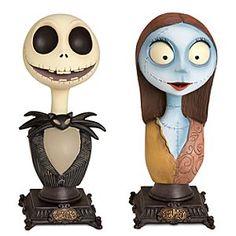 Disney Jack Skellington and Sally Bust Duet