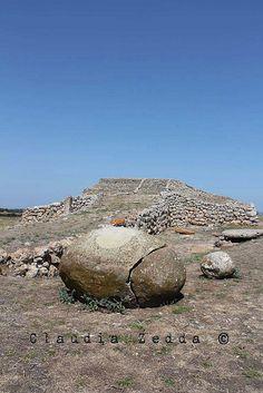 "Il sole e la luna - Monte Accoddì - Sardegna- a temple pyramid known today as the ""ziggurat"" Monte d'Accodi, not far from the town of Sassari. As archaeologists have discovered ancient times it was painted red, and a couple of centuries after it was incorporated into a bigger building ""terraces"", as a real zigurrath Mesopotamian.  more info here:http://www.ilpuntosulmistero.it/il-labirinto-piu-antico-del-mondo-ad-erice-svela-i-suoi-misteri-al-solstizio-destate-di-ignazio-burgio/"