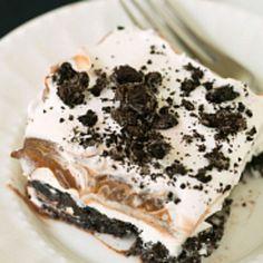 Oreo Chocolate Pudding Dessert Recipe | Oreo, Cream Cheese and Pudding Dessert Recipe | Just A Pinch Recipes