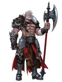 Human Barbarian Warrior