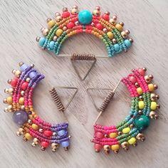 Macrame Earrings, Beaded Bracelets, 31 Mars, Marie, Charmed, Costumes, Smiley, Jewelry, Instagram