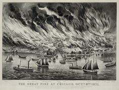 #Great Chicago Fire #1871