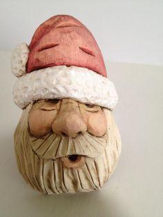 Wood Carving by Linda Santa