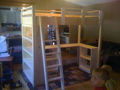 Building a Loft Bed for Kids