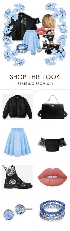 """""""Date Night"""" by aisling-kells ❤ liked on Polyvore featuring Everlane, WithChic, Plakinger, Lime Crime, Lonna & Lilly and Ruby Rd."""