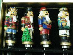 Nutcrackers Spreader set of 4 by Christopher Radko.