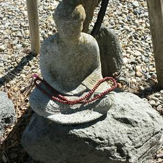 Red Basil \ Tulsi Holi mala\necklace Buddhist meditation mala 108 unknotted red prayer beads ready for jaap or just to wear it Only 2 available Jewelry Necklaces
