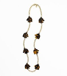 Love the new Tory B. pieces    Tilsim Horse Head Rosary Necklace | Womens Necklaces | ToryBurch.com