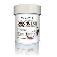 Naturewell Extra Virgin Coconut Oil Moisturizing Cream, 16 oz -- Continue with the details at the image link.