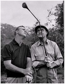 """""""Golf is deceptively simple and endlessly complicated. """"Arnold Palmer"""