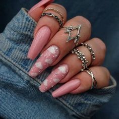 65 ideas for coffin nails: coffin nails (A. Ballerina Nails) 38 Unique Matte Nail Designs Ideas for This Fall – 30 stylish nail design inspirations – OCB 65 ideas for coffin nails: coffin nails (A. Ballerina Nails) Are you a delicate pink … Acrylic Nails Coffin Short, Coffin Shape Nails, Summer Acrylic Nails, Best Acrylic Nails, Pink Acrylics, Best Nails, Classy Acrylic Nails, Colored Acrylic Nails, Nail Summer