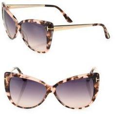 300572fad6 Tom Ford Eyewear Reveka 59MM Butterfly Sunglasses