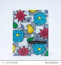 Altenew: Faux Stained Glass Cards