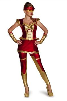 Disguise Women's Marvel Iron Man Movie 3 Iron Girl Bustier Costume, Red/Gold, Small/4-6 Disguise Costumes http://www.amazon.com/dp/B00J3QHJK6/ref=cm_sw_r_pi_dp_WfVDub1NTZ5Q2