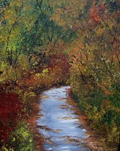 All Roads Lead Here by artbylisaaerts on Etsy, $150.00