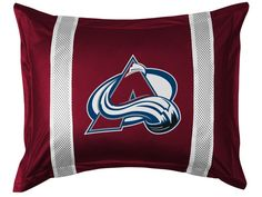 Colorado Avalanche NHL Sidelines Pillow Sham/Cover/Case