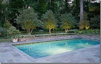 our goal for next summer...inground pool. We will need at least a diving board for our kids though. I can't wait!!