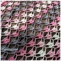 Yarn: Alize Diva Batik Design , 100% microfiber, color 3303 pattern 1: for a rectangular shawl as the photo pattern 2: for a triangular shawl