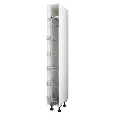 Profile Cabinet Pantry Pull-Out White 220.4cm - Masters Home Improvement