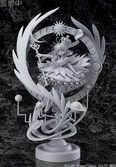 Card Captor Sakura Kinomoto Sakura by Good Smile Company unpainted prototype revealed