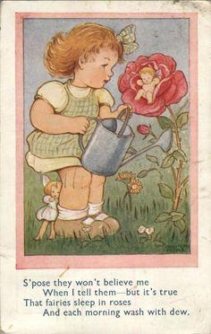 Phyllis Purser postcard