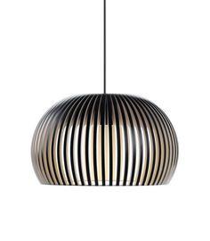 Atto 5000 hanglamp zwart Secto Design