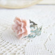 Patina Floral Ring - Jewelsalem, $5.00