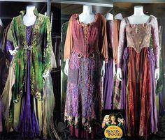 Hocus Pocus Sanderson Sis original costumes