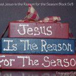 Jesus is the reason for the season dual sided blocks Christmas Stockings, Christmas Diy, Christmas Wreaths, Christmas Decorations, Christmas Ornaments, Holiday Decor, Home Organization Hacks, Fall Diy, Simple House
