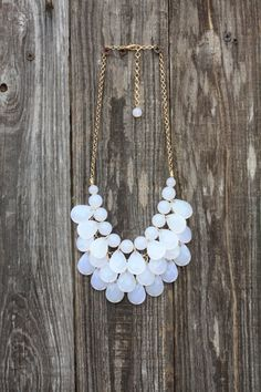 White Clear Bib Bubble bib statement gifts by stylishmommas, $15.00