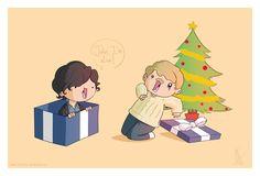MERRY CHRISTMAS JAWWWWN!