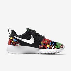 Marvel Avengers Nike Roshe Run Custom Sneakers #Nike #Roshe