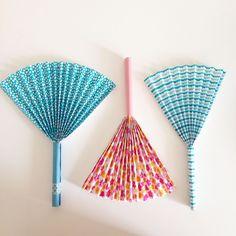le diy de l 39 t eventail origami diy pinterest eventail diy et activit. Black Bedroom Furniture Sets. Home Design Ideas