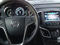 2014 Buick Lacrosse, great ride, computer system very complicated.