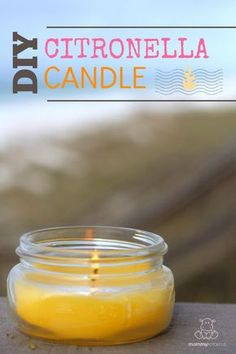 Create a bug-free zone around your deck or porch with this DIY citronella candle tutorial