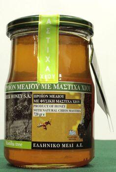 Organic Thyme Raw Honey with PHYSICAL CHIOS MASTIC 720gr Greek Honey NEW HARVEST #GreekHoney