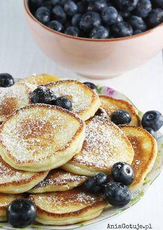 Placki z serków waniliowych Healthy Meals For Kids, Healthy Foods To Eat, Kids Meals, Healthy Recipes, Wise Foods, Comida Keto, Good Food, Yummy Food, Breakfast Recipes