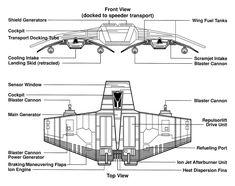 V wing transport