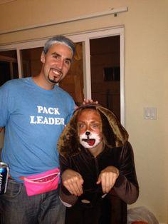 Cesar Milan & dog homemade costume