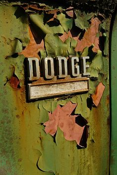 dodge, type, lettering