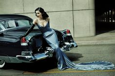 #DitaVonTeese by #FrancescoCarrozzini for #LifestyleMirror 2014