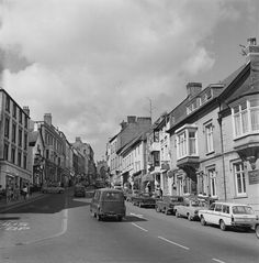 Views of Haverfordwest Cymru, Back In Time, Historical Photos, Old Photos, Wales, Honey, Street View, Historical Pictures, Old Pictures